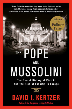 The Pope and Mussolini Book Cover Picture