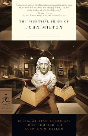 The Essential Prose of John Milton by John Milton