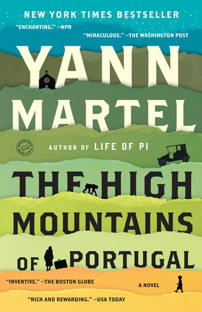 The High Mountains of Portugal Book Cover Picture