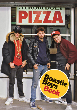The cover of the book Beastie Boys Book