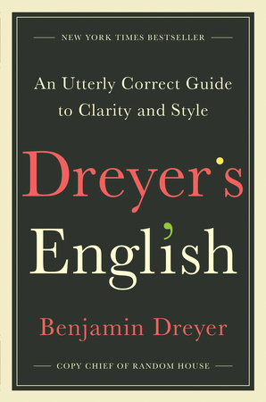 The cover of the book Dreyer's English