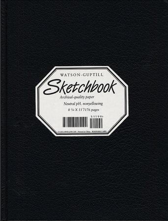Large Sketchbook (Lizard, Black) by Watson-Guptill