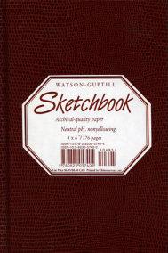 Small Sketchbook (Lizard, Burgundy)