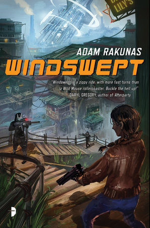 Windswept Book Cover Picture