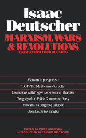 Marxism, Wars and Revolutions