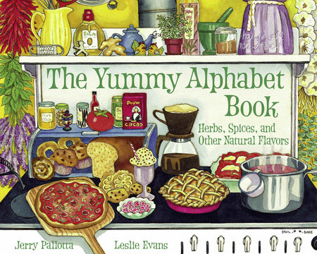 The Yummy Alphabet Book by Jerry Pallotta