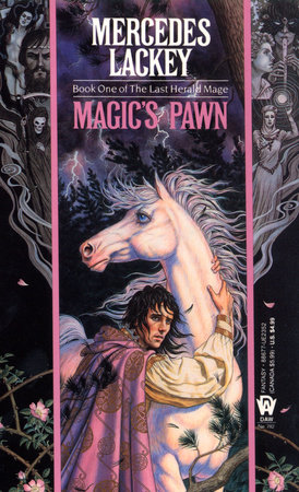 The cover of the book Magic's Pawn