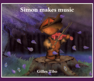 Simon makes music