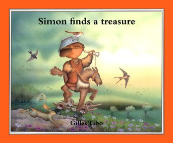 Simon finds a treasure