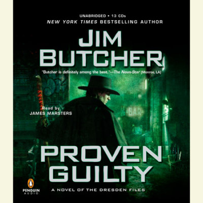 Proven Guilty cover
