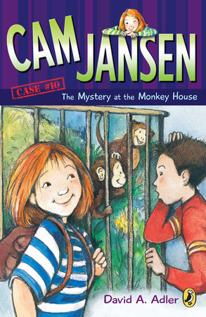 Cam Jansen and the Mystery of the Monkey House #10 by David A. Adler