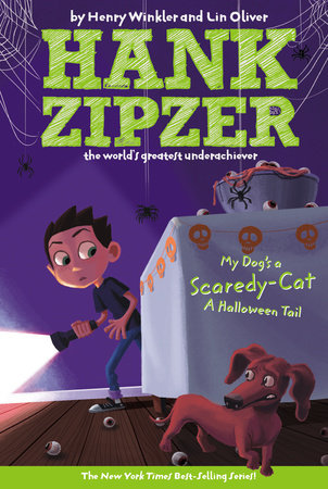 My Dog's a Scaredy-Cat #10 by Henry Winkler and Lin Oliver