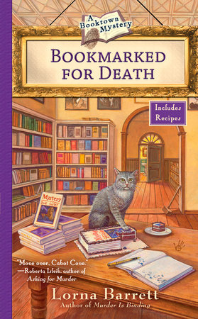 Bookmarked for Death cover