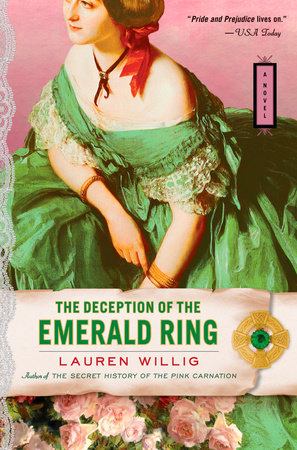 The Deception of the Emerald Ring by Lauren Willig