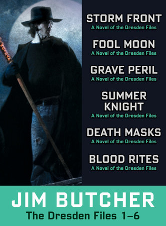 The Dresden Files Collection 1-6 by Jim Butcher