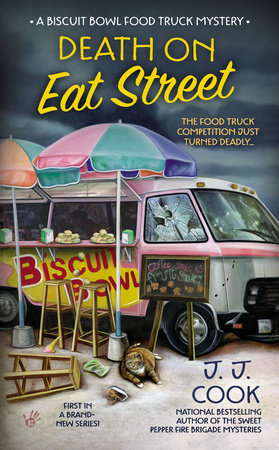 Death on Eat Street by J. J. Cook