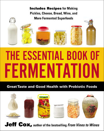 The Essential Book of Fermentation by Jeff Cox