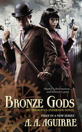 Bronze Gods by A. A. Aguirre