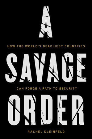 The cover of the book A Savage Order