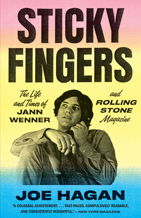 The cover of the book Sticky Fingers