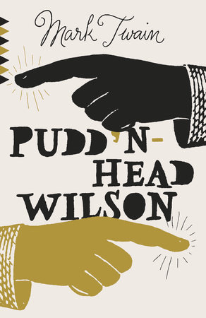 The cover of the book Pudd'nhead Wilson