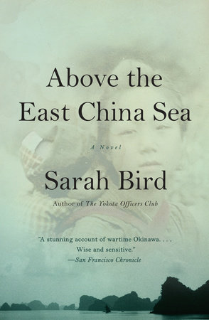 Above the East China Sea