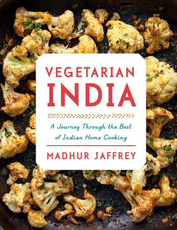 Vegetarian India by Madhur Jaffrey