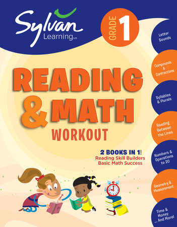 1st Grade Reading & Math Workout by Sylvan Learning