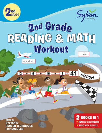 2nd Grade Reading Math Workout By Sylvan Learning