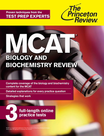 MCAT Biology and Biochemistry Review by Princeton Review