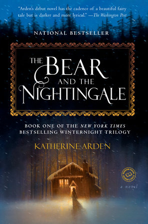 The cover of the book The Bear and the Nightingale