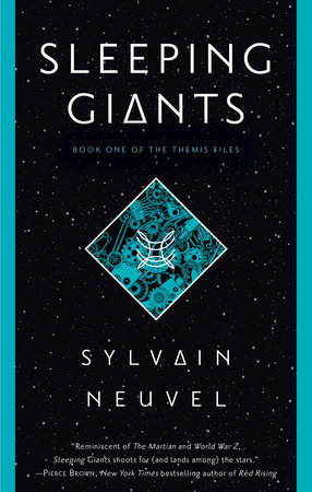 The cover of the book Sleeping Giants