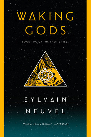 The cover of the book Waking Gods