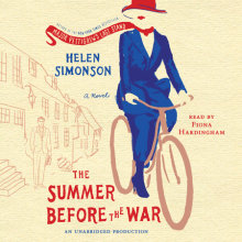 The Summer Before the War Cover