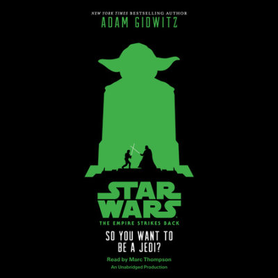 Star Wars: The Empire Strikes Back So You Want to be a Jedi? cover