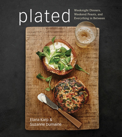 Plated by Elana Karp and Suzanne Dumaine