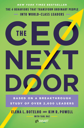 The cover of the book The CEO Next Door
