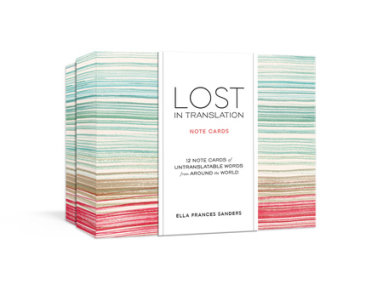 Lost in Translation Note Cards