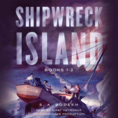 Shipwreck Island, Books 1-2 cover