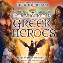 Percy Jackson's Greek Heroes Cover