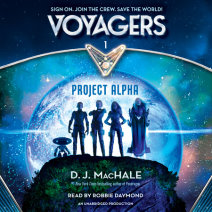 Voyagers: Project Alpha (Book 1) Cover