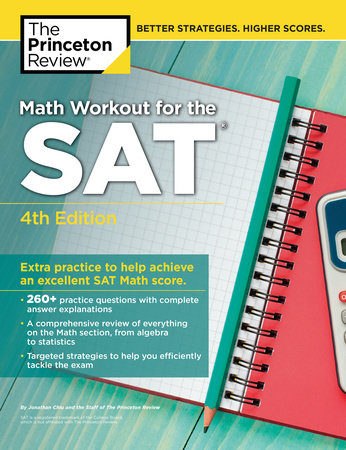Math Workout for the SAT, 4th Edition by Princeton Review