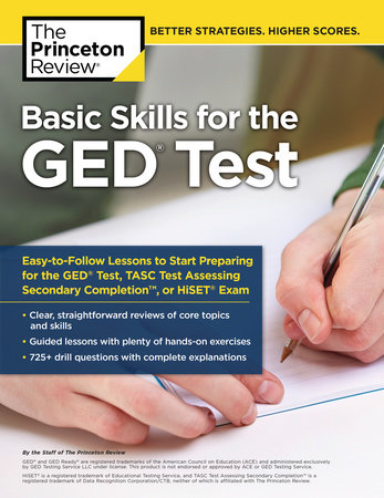 Basic Skills for the GED Test by Princeton Review