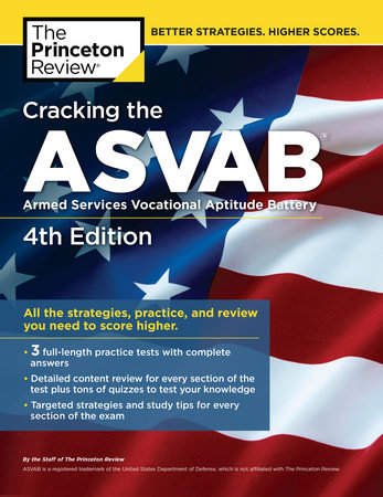 Cracking the ASVAB, 4th Edition by Princeton Review