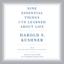 Nine Essential Things I've Learned About Life Cover