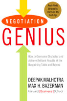 Negotiation Genius Cover