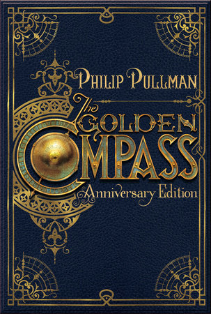 The cover of the book The Golden Compass, 20th Anniversary Edition