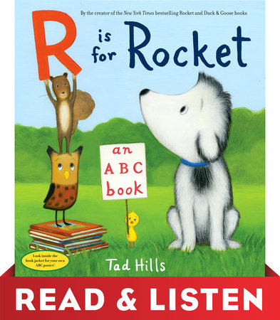 R Is for Rocket: An ABC Book by Tad Hills