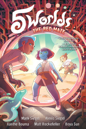 5 Worlds Book 3: The Red Maze by Alexis Siegel,Mark Siegel