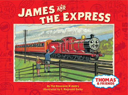 James And The Express Thomas Friends By Rev W Awdry
